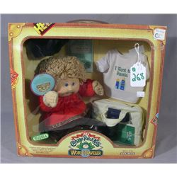 "VINTAGE ORIGINAL 1985 CABBAGE PATCH KIDS ""WORLD"