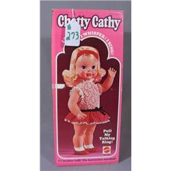 VINTAGE 1975 CHATTY CATHY DOLL