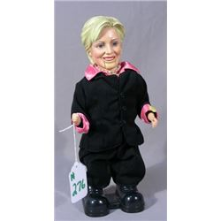 BATTERY OPERATED HILLARY DOLL