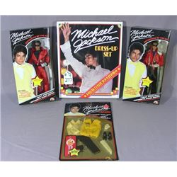 GROUP OF 4 MICHEAL JACKSON MEMORBILIA
