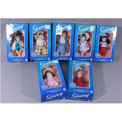 "GROUP OF ""THE WORLD OF GINNY"" DOLLS"