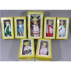 """SERIES OF VINTAGE EFFANBEE """"DAY BY DAY"""" DOLLS"""