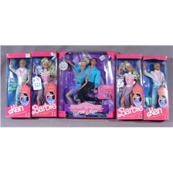 GROUP OF VINTAGE MATTEL ICE CAPADES AND OLYMPIC BARBIE