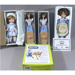 """GROUP OF FIVE """"LITTLE DEBBIE"""" COLLECTIBLE DOLLS"""