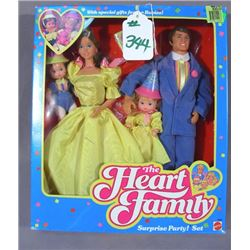 """THE HEART FAMILY """"SURPRISE PARTY SET"""""""