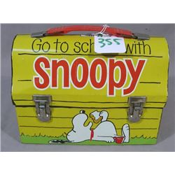 1968 SCHULZ SNOOPY LUNCHBOX