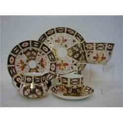 A ROYAL CROWN DERBY IMARI COFFEE SET , early 20th Century