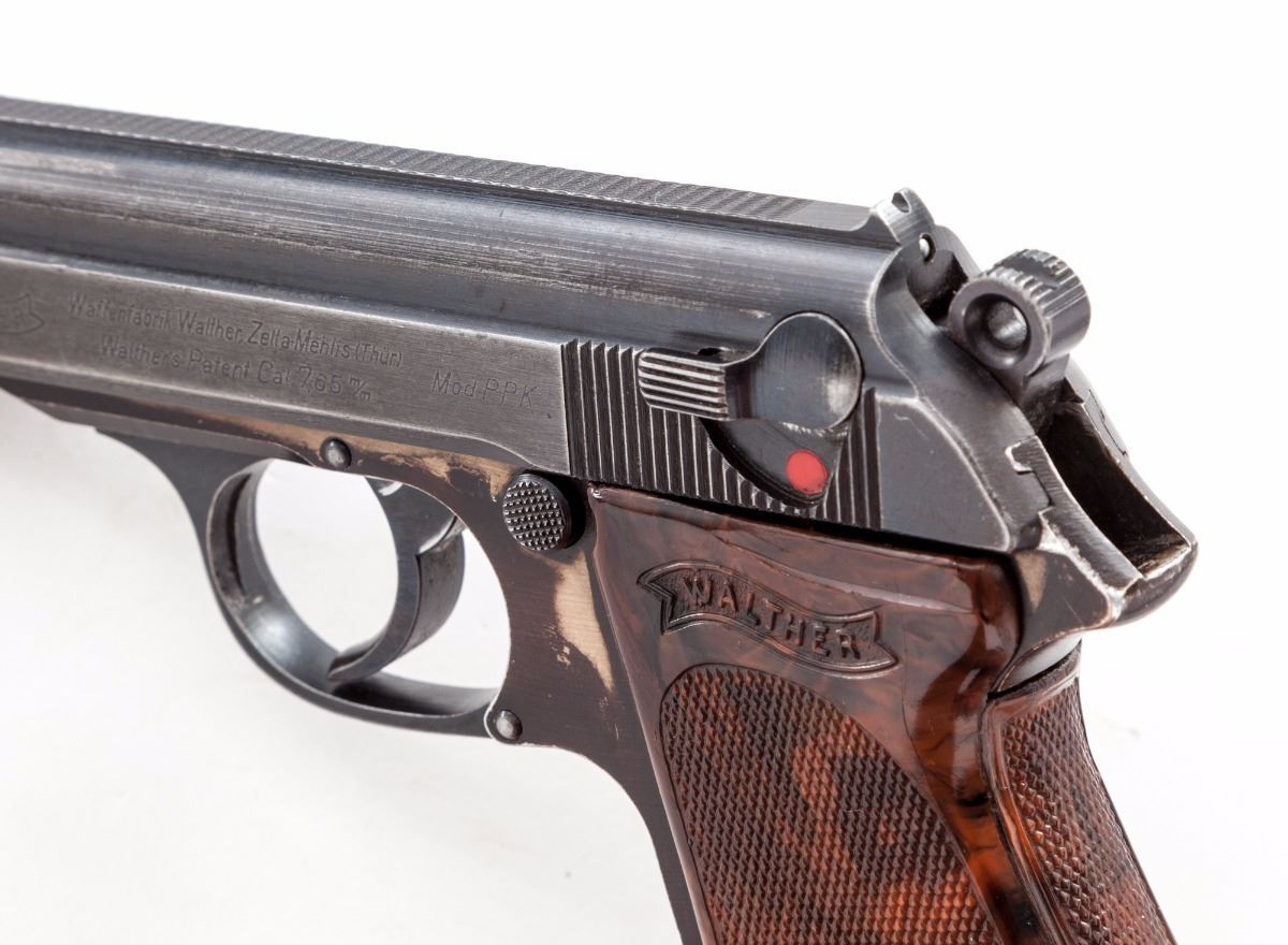 Scarce Duralum Frame Wartime Walther PPK