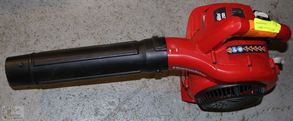 Homelite 26b Gas Blower As Is Missing End Piece