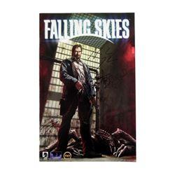 Falling Skies Dark Horse comic book autographed Noah Wyle