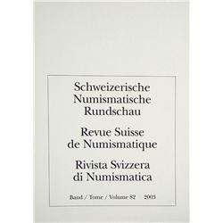 Schweizerische Numismatische Rundschau