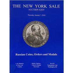 New York Sales Featuring Russian Coins