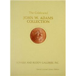 Unique Matching Set of John W. Adams Collection Hardcovers: Numbers 9 & IX