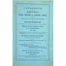 Very Scarce Priced 1864 Cogan Sale