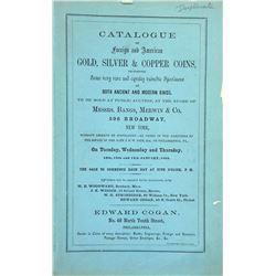 Very Scarce Priced 1864 Cogan Sale