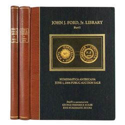 A Matching Set of Leatherbound Ford Library Sales