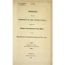 The 1824 Mint Report