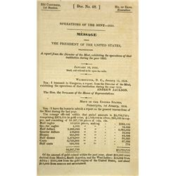 The 1833 Mint Report