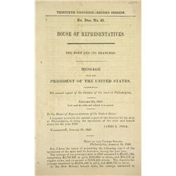 The 1848 Mint Report