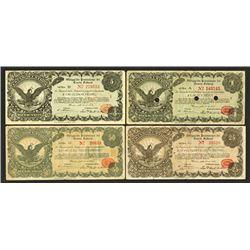 Obligation Provisional del Erario Federal. 1914 Issue.