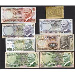 "Ottoman Empire 1876 –Kaime"" Treasury Note Issue;"