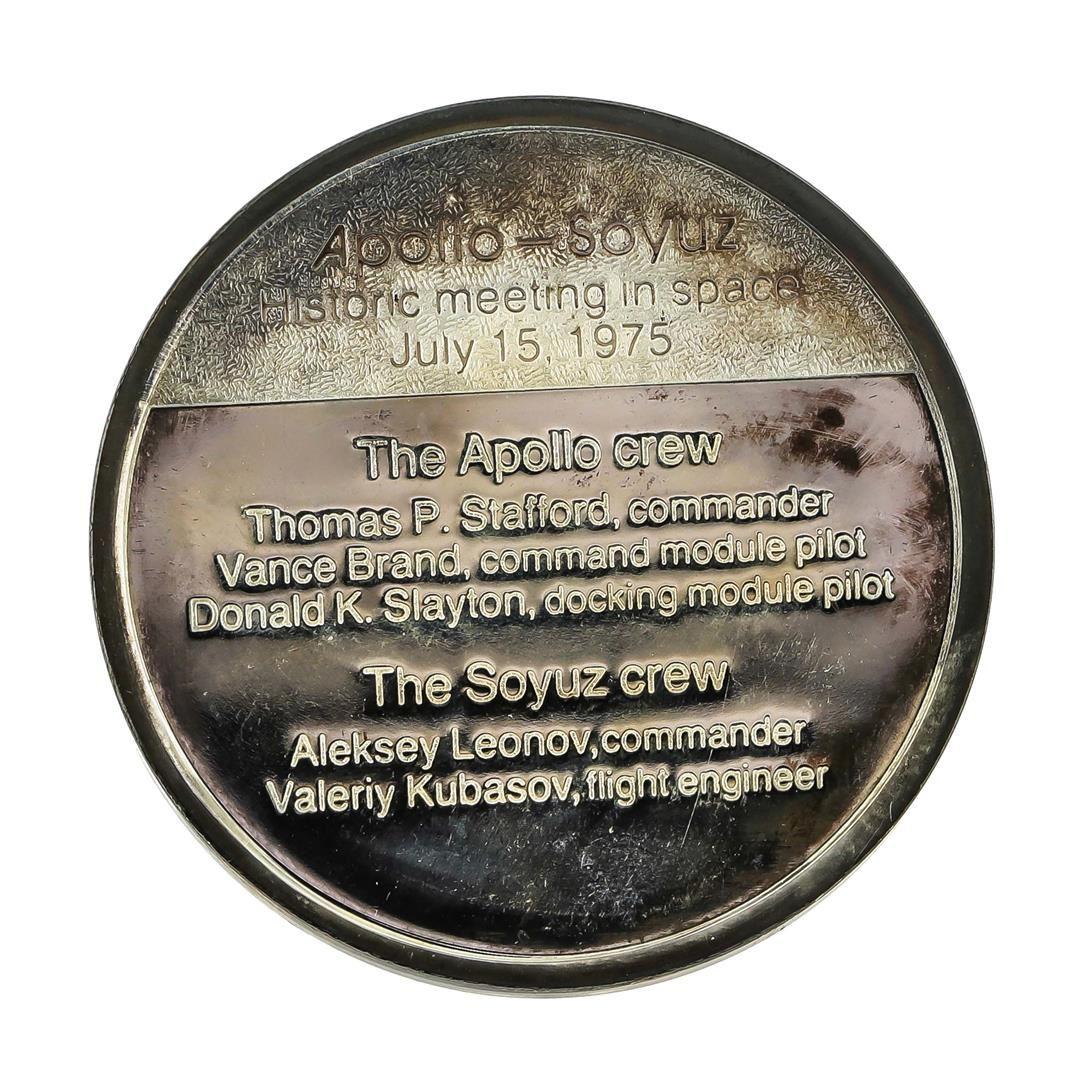 apollo soyuz commemorative coin