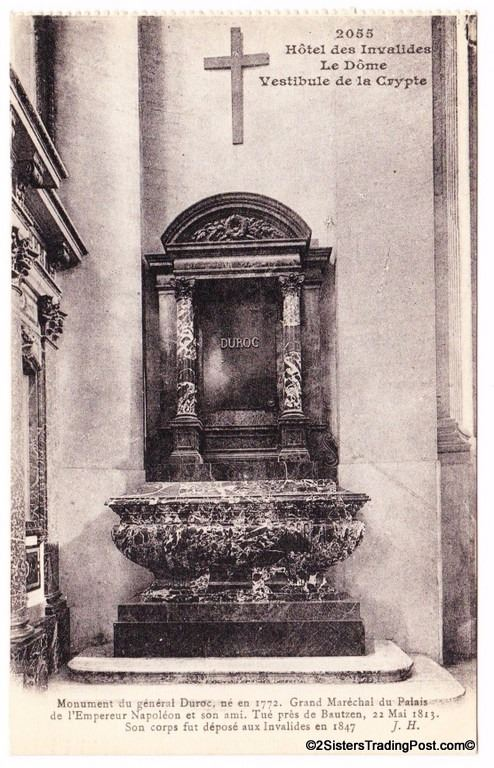 Monument Of General Duroc Paris France Early To Mid 1900 S
