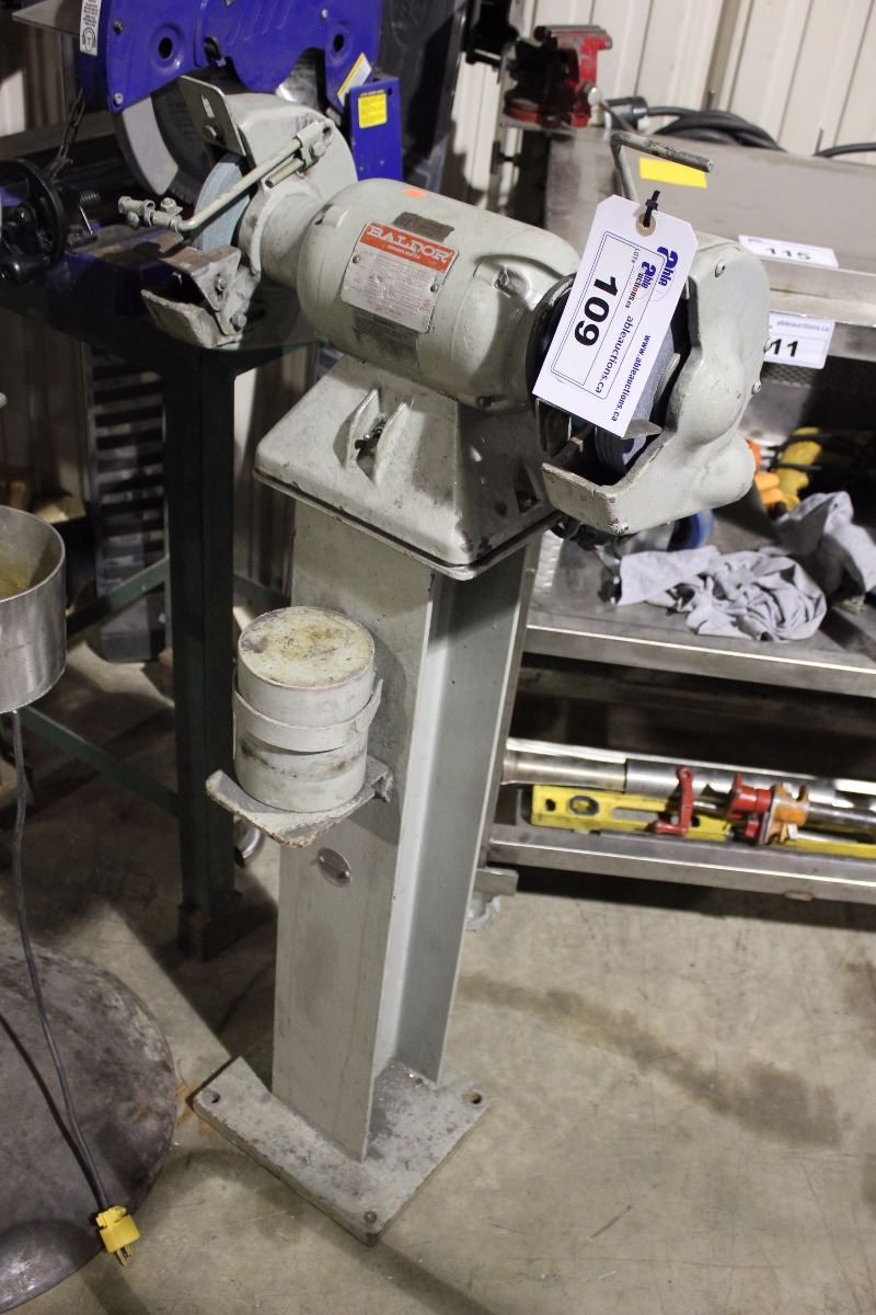 Cool Baldor Single Phase Bench Grinder On Stand Pdpeps Interior Chair Design Pdpepsorg