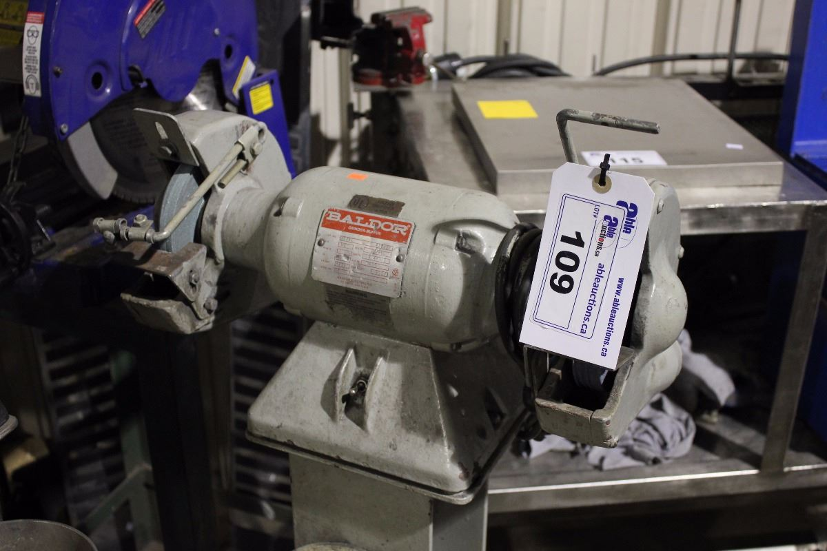 Brilliant Baldor Single Phase Bench Grinder On Stand Pdpeps Interior Chair Design Pdpepsorg