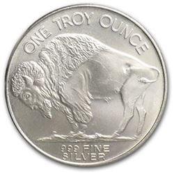 (10) Buffalo Silver Rounds Pure