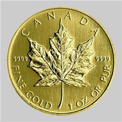 Gold Maple Leaf - 1 oz Pure 9999- Random Year