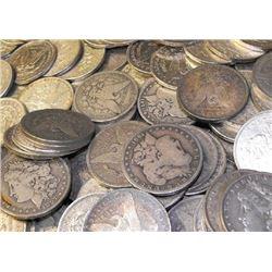 Lot of 50 Morgan Dollars ag-au