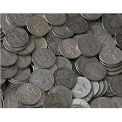 Lot of 70 Assorted 90% Halves-