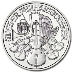 (10) Austrian Philharmonic Silver Bullion