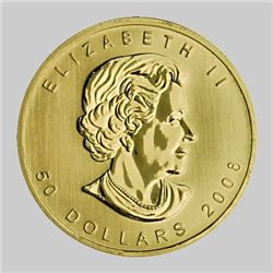 Gold Maple Leaf Bullion - 1 oz. Pure
