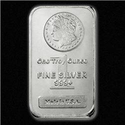 (10) Silver Bars - Morgan Design