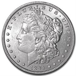 1896 P UNC Morgan Silver Dollar