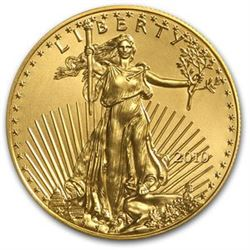 1 oz. US Gold Eagle - .999 Pure - Random Date