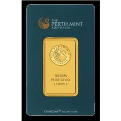 1 oz. Pamp / Credit / Perth Gold Bullion -