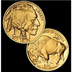 1 oz Gold US Buffalo - 24K Bullion - Random
