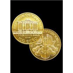 1 oz . Gold Austrian Philharmonic - Random