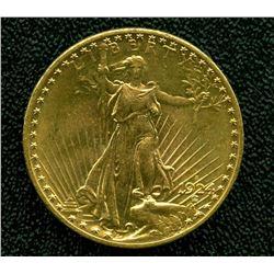 1924 S $ 20 Gold Saint Gauden's