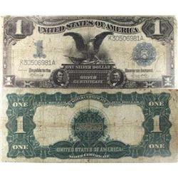 1899  Black Eagle  Silver Certificate - G-VG