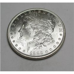 1882 P BU Morgan Silver Dollar