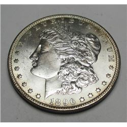 1896 P BU Morgan Silver Dollar