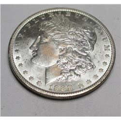 1888 P BU Morgan Silver Dollar