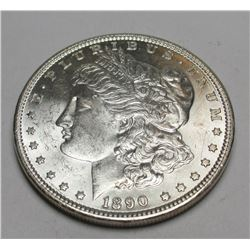 1890 P BU Morgan Silver Dollar
