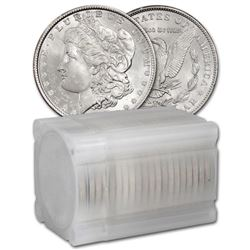 Roll of (20) BU Morgan Dollars Mixed Dates