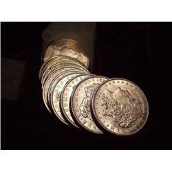 Roll of BU Morgan Silver Dollars Mixed 78-21