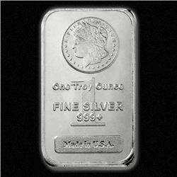 Morgan Design Silver Bar - 999 Pure